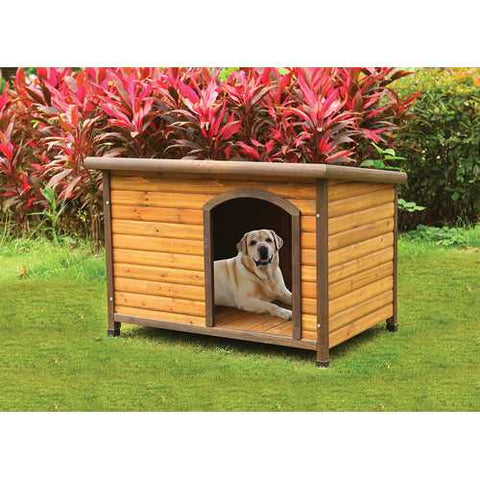 Pet House, Light Oak - Chinese Fir Wood, Felt &  Light Oak