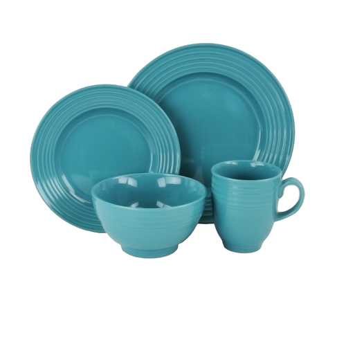 Embossable 16 Piece Dinnerware Set