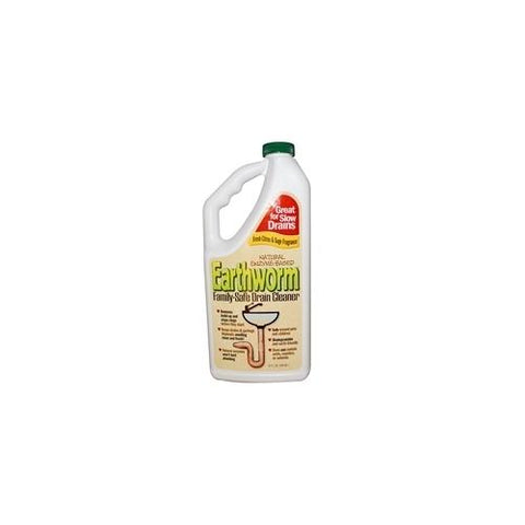 Earthworm Family Safe Drain Cleaner (6x32Oz)