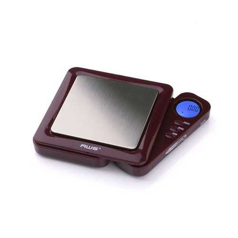 American Weigh Scales BL-100-BUR Burgundy Blade Digital Pocket Scale 100 by 0.01 G