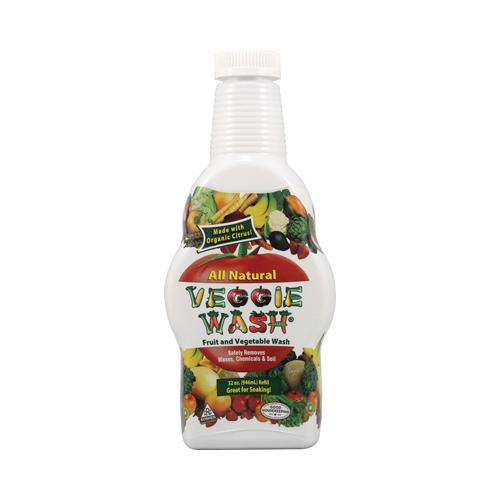 Citrus Magic All Natural Fruit and Vegetable Wash- Soaker Bottle (32 fl Oz)