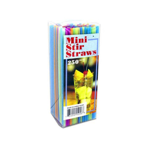 Mini Stir Straws ( Case of 24 )