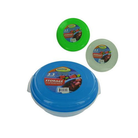 Storage container with lid ( Case of 8 )