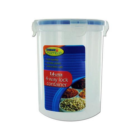 Four-way locking storage container ( Case of 32 )