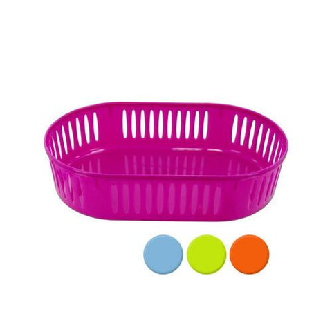 Plastic Oval Storage Basket ( Case of 36 )