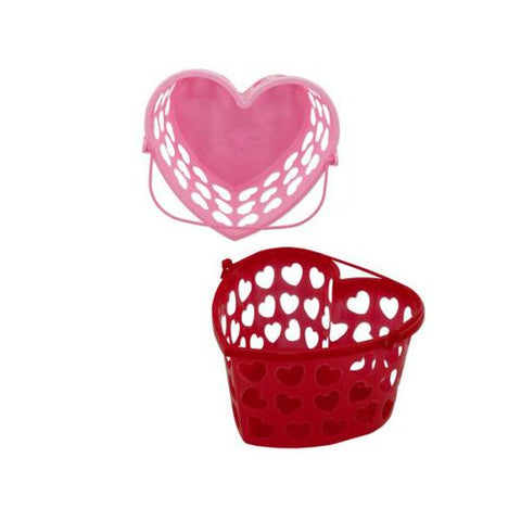 Heart Basket With Handle ( Case of 48 )
