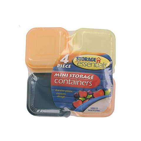 Miniature Storage Containers ( Case of 24 )