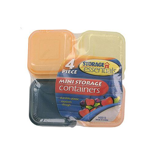 Miniature Storage Containers ( Case of 48 )
