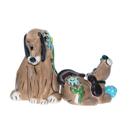 Puppy Love Salt & Pepper Shakers ( Case of 8 )