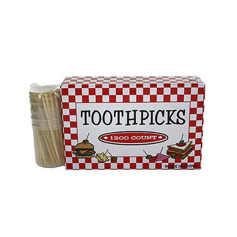 Toothpicks with holder ( Case of 48 )