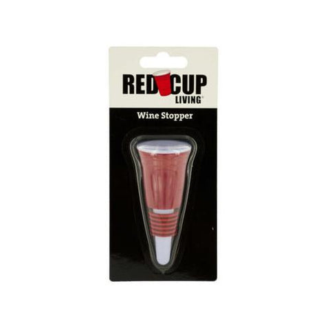 Red Cup Living Wine Stopper ( Case of 72 )