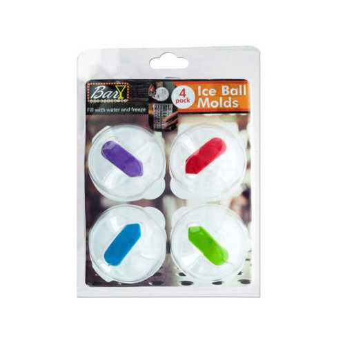 Ice Ball Molds Set ( Case of 18 )