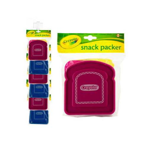 Crayola Snack Packer Sandwich Box Clip Strip ( Case of 60 )