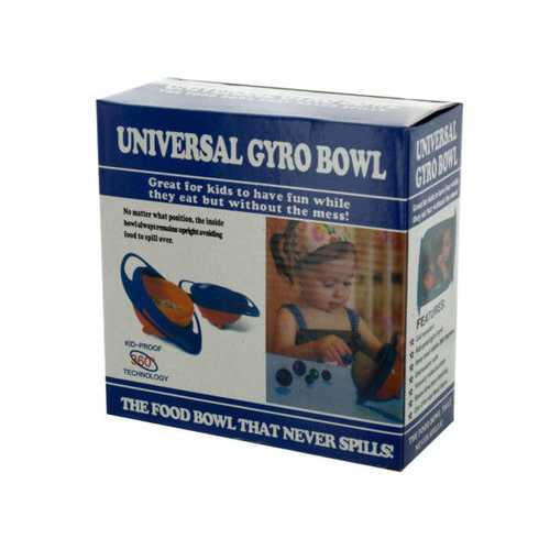 Kids No Spill Bowl ( Case of 48 )