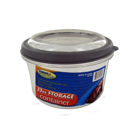 Storage container with lid ( Case of 24 )