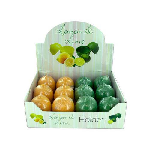 Lemon and lime holder display ( Case of 24 )