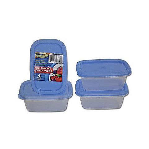 Rectangle storage containers ( Case of 72 )