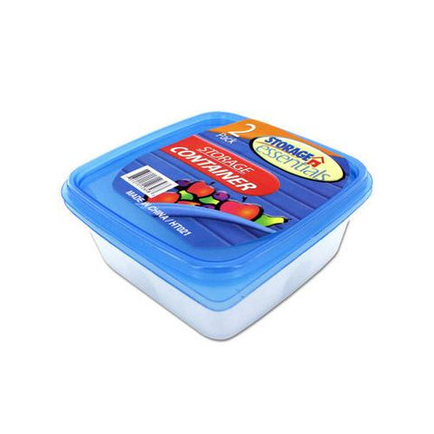 Square storage container set ( Case of 72 )