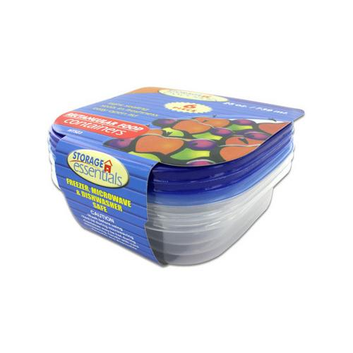 Rectangular storage containers ( Case of 24 )