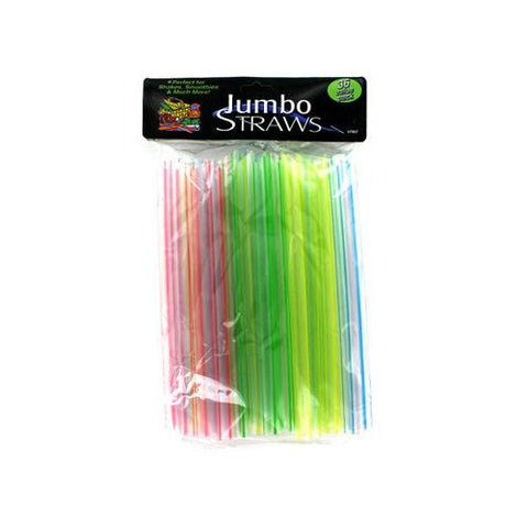Jumbo Straws ( Case of 75 )