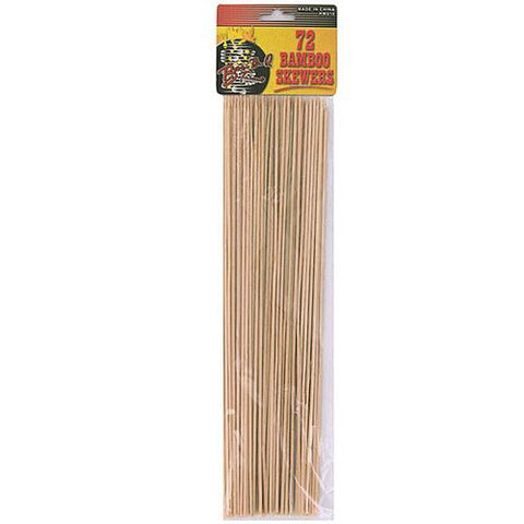 Huge set of bamboo skewers (72 count) ( Case of 48 )