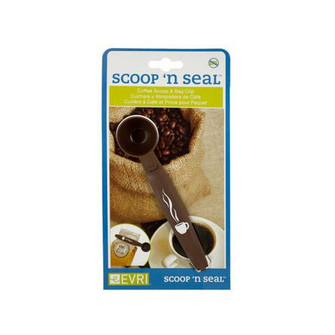 Coffee Scoop & Clip ( Case of 48 )