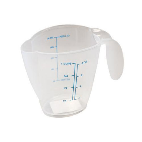 1-Cup Plastic Measuring Cup ( Case of 24 )