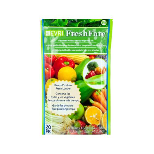 FreshFare Reusable Produce Storage Bags ( Case of 48 )