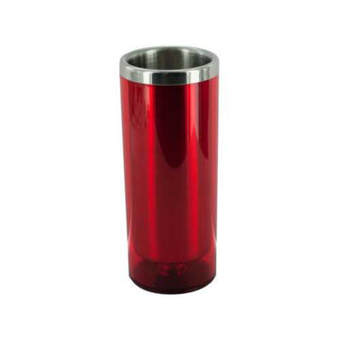 3 1/2 oz Red Double Wall Insulated Shot Glass ( Case of 24 )
