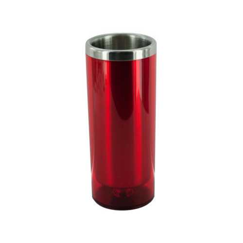 3 1/2 oz Red Double Wall Insulated Shot Glass ( Case of 48 )