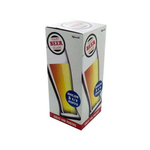 3-1/2 Pint Giant Beer Glass ( Case of 4 )