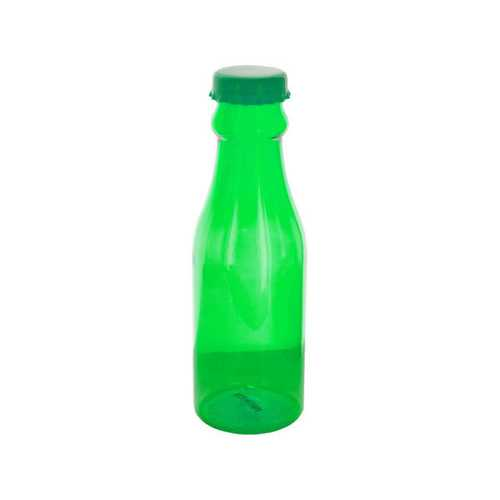 24 oz Clear Lime Soda Bottle Style Beverage Container ( Case of 24 )