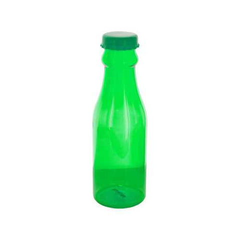 24 oz Clear Lime Soda Bottle Style Beverage Container ( Case of 48 )