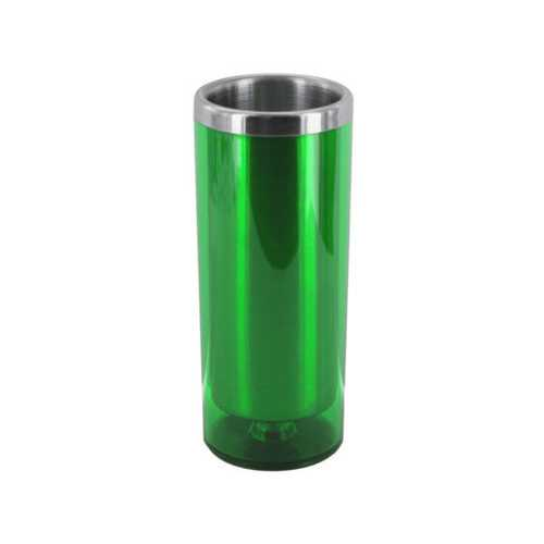 3 1/2 oz Green Double Wall Insulated Shot Glass ( Case of 24 )