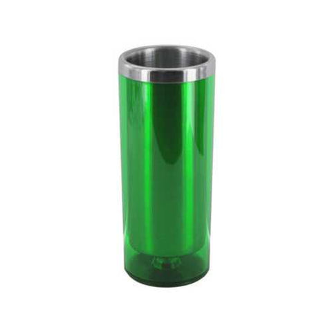 3 1/2 oz Green Double Wall Insulated Shot Glass ( Case of 72 )