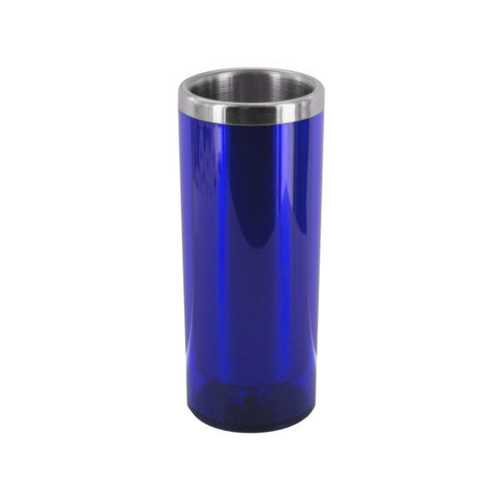 1 1/2 oz Blue Double Wall Insulated Shot Glass ( Case of 48 )