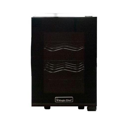 6btl Thermoelec Wine Cooler Bk