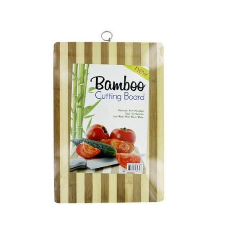 Striped Bamboo Cutting Board ( Case of 12 )