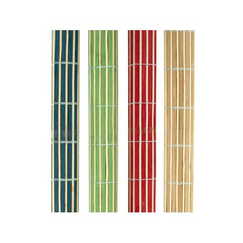 Roll-Up Bamboo Placemats Set ( Case of 4 )