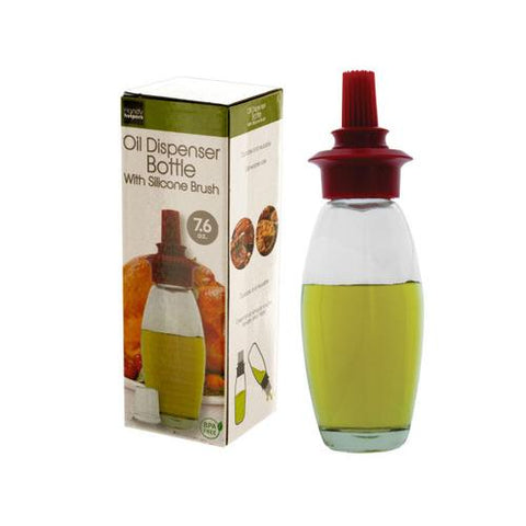 76 oz Oil Dispenser Bottle with Silicone Brush ( Case of 18 )