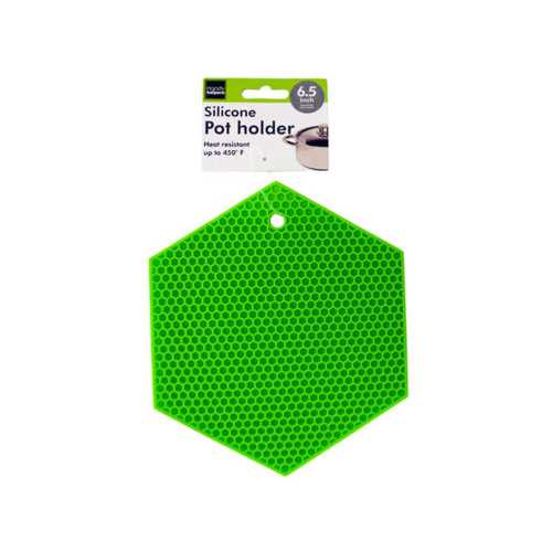 Hexagonal Silicone Pot Holder ( Case of 24 )