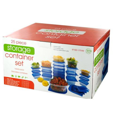 Variety Food Storage Container Set ( Case of 2 )