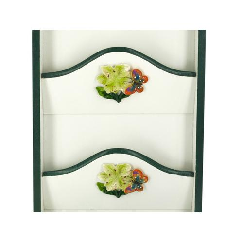 Butterfly Key Cabinet with Letter Holder ( Case of 4 )