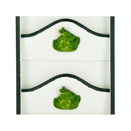 Frog Key Cabinet with Letter Holder ( Case of 6 )