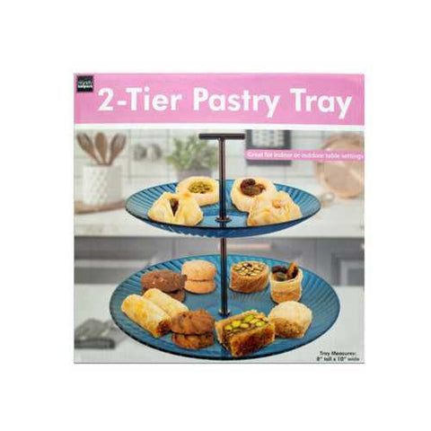 2-Tier Pastry Tray ( Case of 4 )