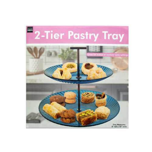 2-Tier Pastry Tray ( Case of 8 )