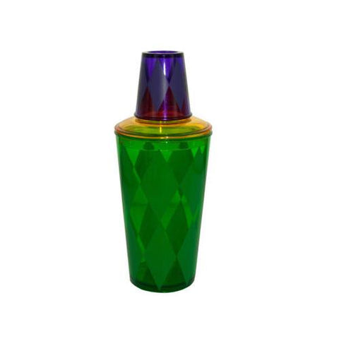 Mardi Gras Cocktail Shaker ( Case of 24 )
