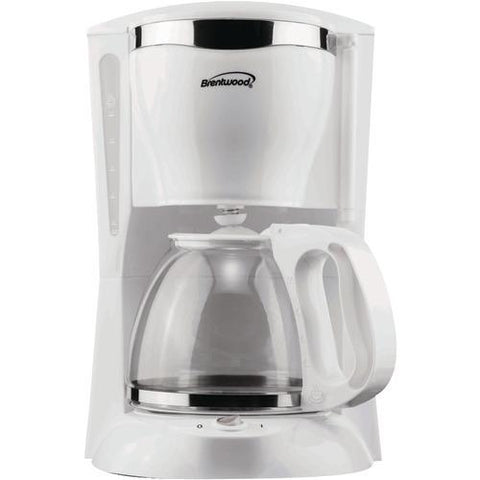 Brentwood 12-cup Coffee Maker (white) (pack of 1 Ea)