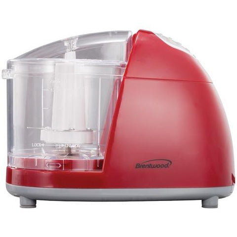 Brentwood Mini Red Food Chopper (pack of 1 Ea)