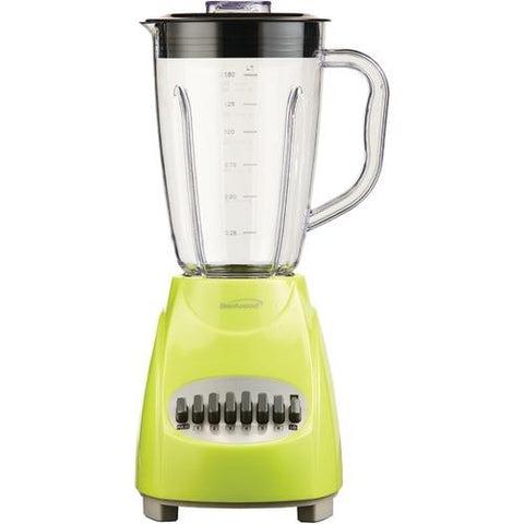 Brentwood 12-speed Blender With Plastic Jar (lime Green) (pack of 1 Ea)